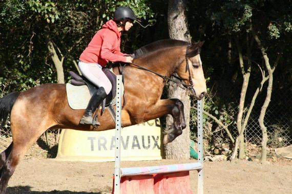 le cheval plus qu'une pasion ces toute ma vie..