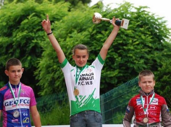 Alana, Jonas  champions du Hainaut samedi 9 juillet 2011