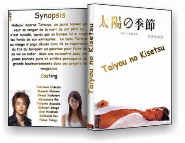 "HIDEAKI TAKIZAWA : KI SE KI / MIRACLE / Chanson et photos  du drama japonais "" Taiyou no Kisetsu """