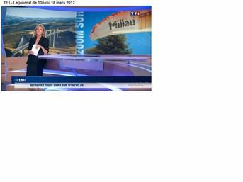 la couvertoirade et les grands causses en honneur sur Tf1 ce dimanche 18 mars 2012