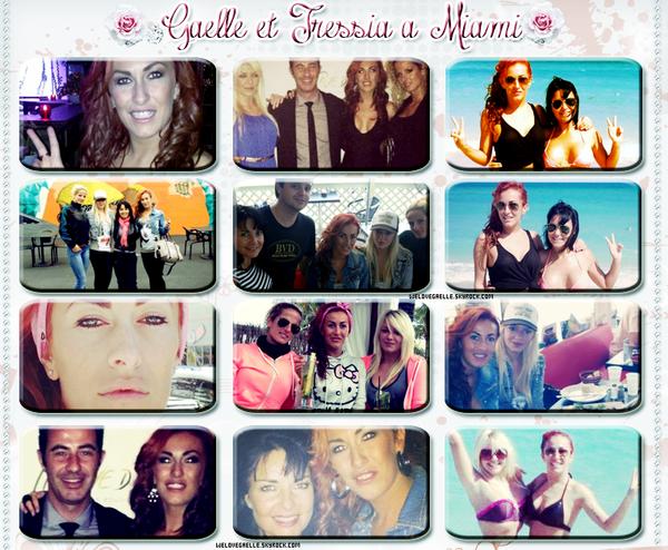 • Gaelle et Tressia en vacance à Miami !  ♥