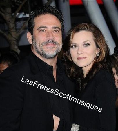 Hilary Burton et Jeffrey Dean pour l'avant première de Twilight Chapitre 4 à Los Angeles ( 2011)