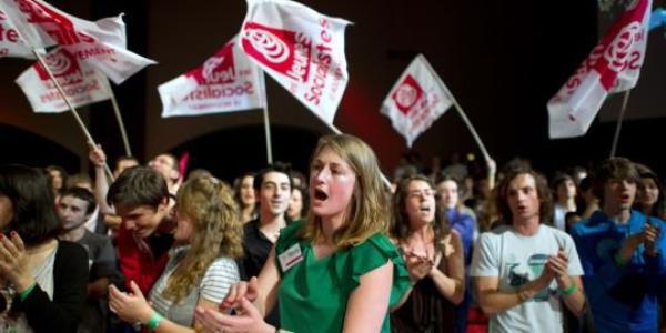 Les jeunes socialistes partent en campagne pour François Hollande