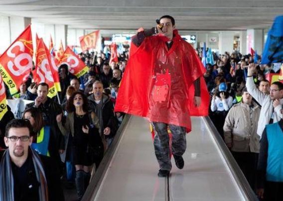 Grève dans les aéroports : Ça continue !