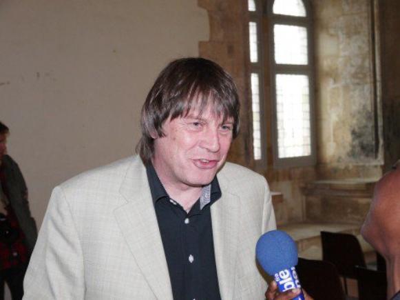 Les 100 ans de la CGT locale : Bernard Thibault au Palais des Rois de Majorque
