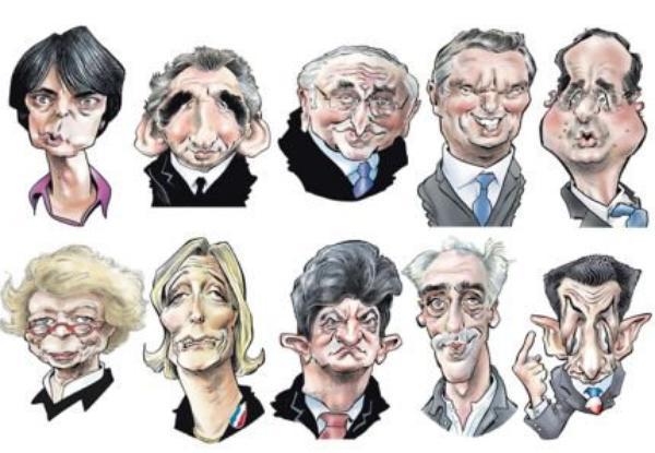 Les candidats vus par la presse étrangère