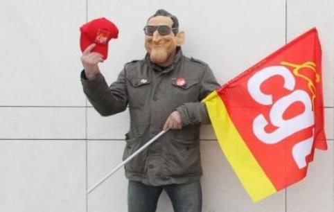 """La CGT appelle à """"battre"""" Nicolas Sarkozy au 2e tour de la présidentielle"""