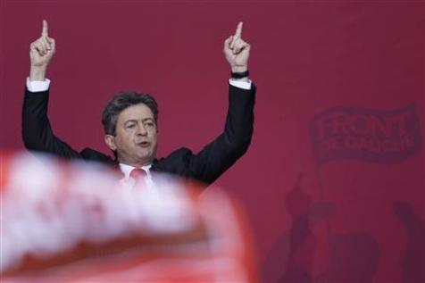 """Mélenchon appelle à voter Hollande pour """"chasser Sarkozy"""""""