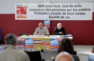Les retraités CGT veulent faire valoir leurs droits