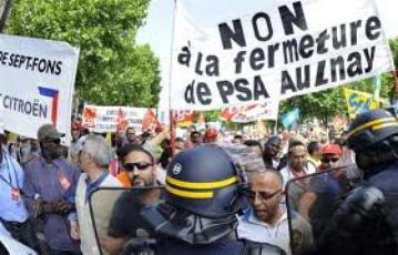 PSA : la CGT critique Montebourg