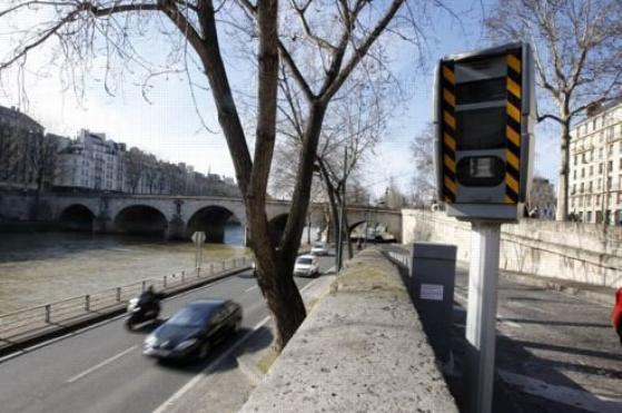 Radars routiers : un record des recettes prévu pour 2012