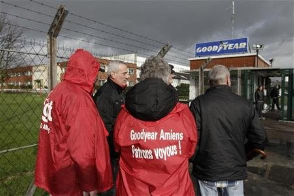 La CGT fait une ouverture pour le site Goodyear d'Amiens-Nord