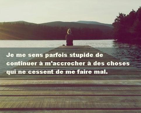 Je me sens parfois stupide ... † - Blog poèmes & citations
