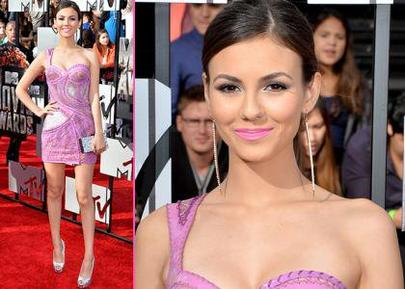 Victoria Justie & Mtv Awards 2014