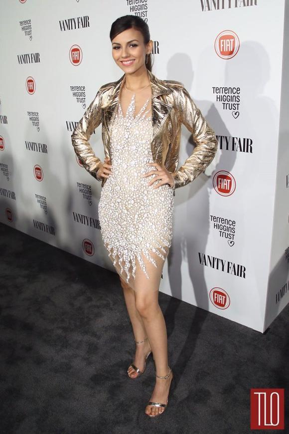 Victoria Justice à la soirée Vanity Fair Holywood