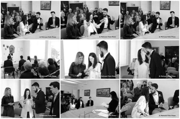 Lodovica et Tomas se sont dis oui devant la maire en Italie ! ♥