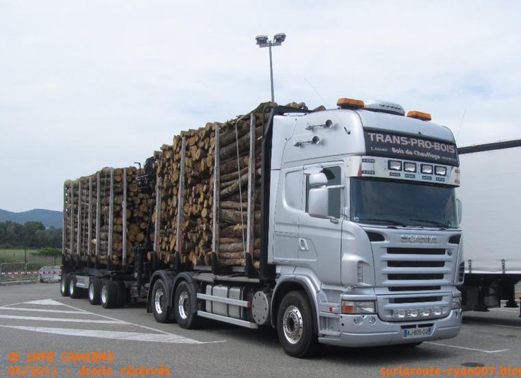 transport pro bois