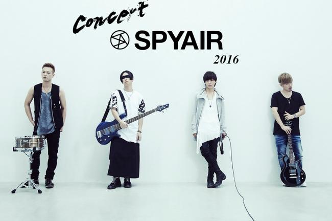 Concert SPYAIR 2016