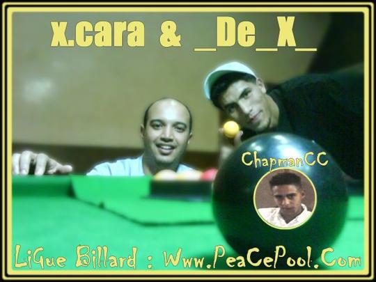 La famille de PeacePool ( _De_X_ , ChapmanCC et x.cara )