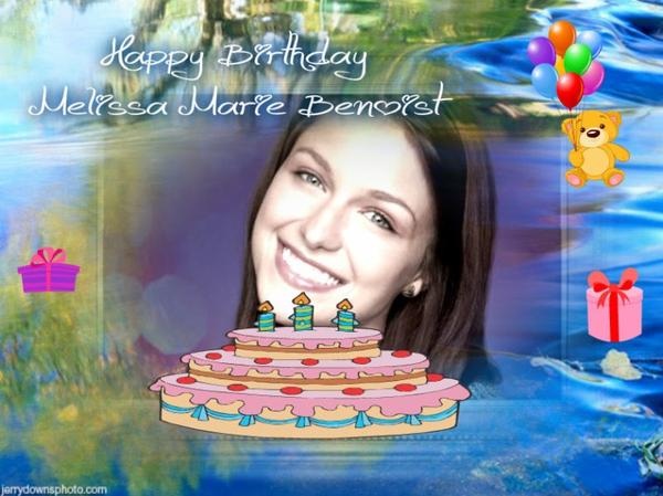 Happy Birthday Melissa Marie Benoist (Marley Rose)