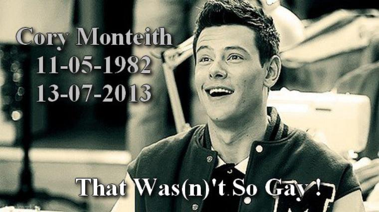 ♥ R.I.P Cory Monteith ♥