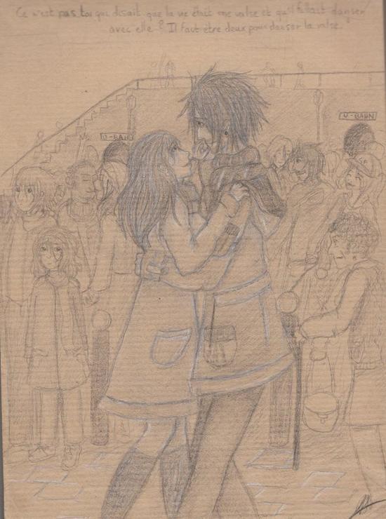 Un étudiant en histoire amoureux... Et toutes ses pensées vers sa bien-aimée...