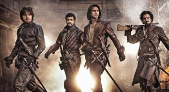 The Musketeers ! ♥