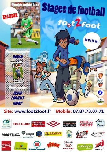 Le Freestyle foot en vedette sur les stages de foot FOO2FOOT