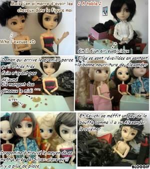 Photostory hors série #4 La vie amoureuse mouvementée de Damen (shonen-ai)