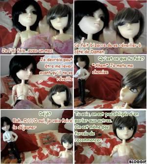 Photostory hors série #5 La vie amoureuse mouvementée de Damen n°2 (shonen-ai et romance)