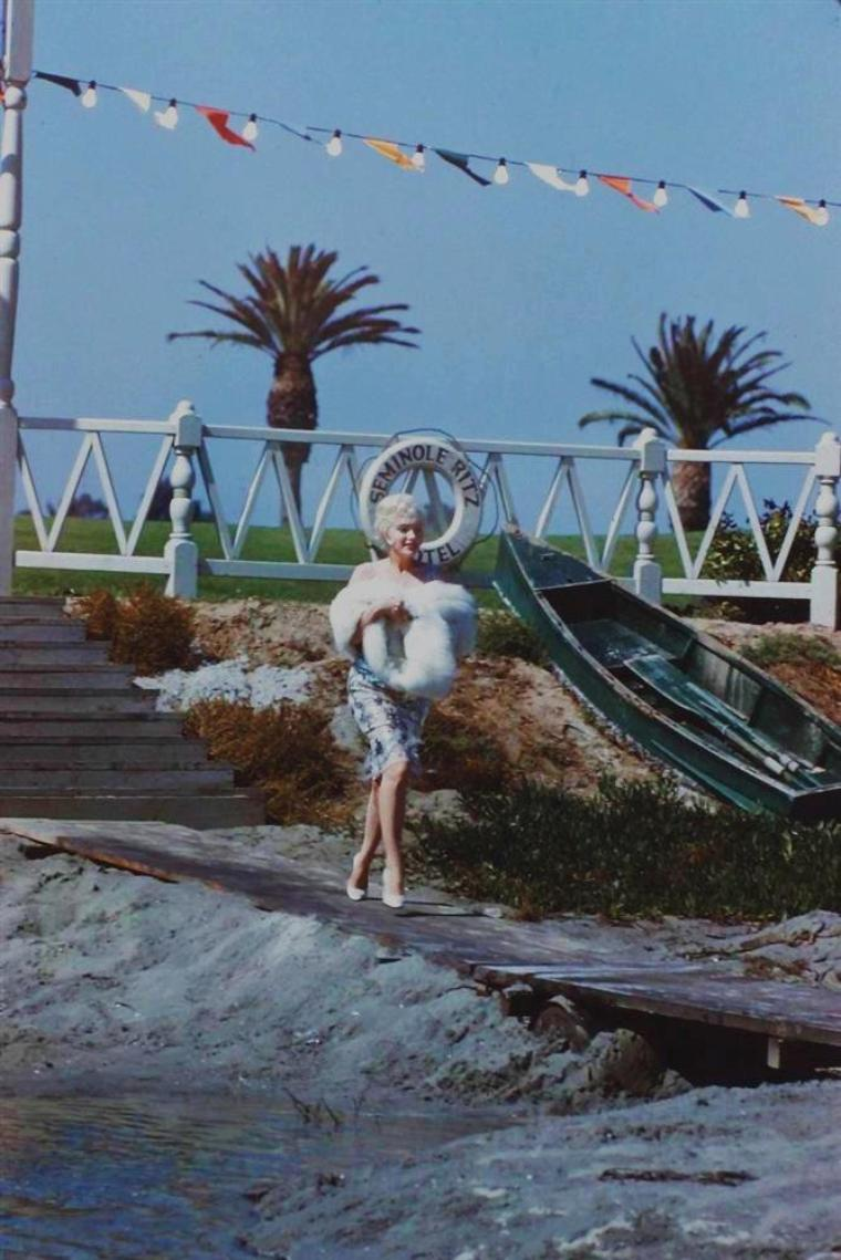 "1959 / by Richard C MILLER (on the set of ""Some like it hot"")."
