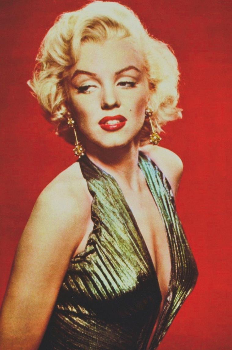 """1952 / by Gene KORNMAN... Portraits publicitaires pour """"Gentlemen prefer blondes""""."""