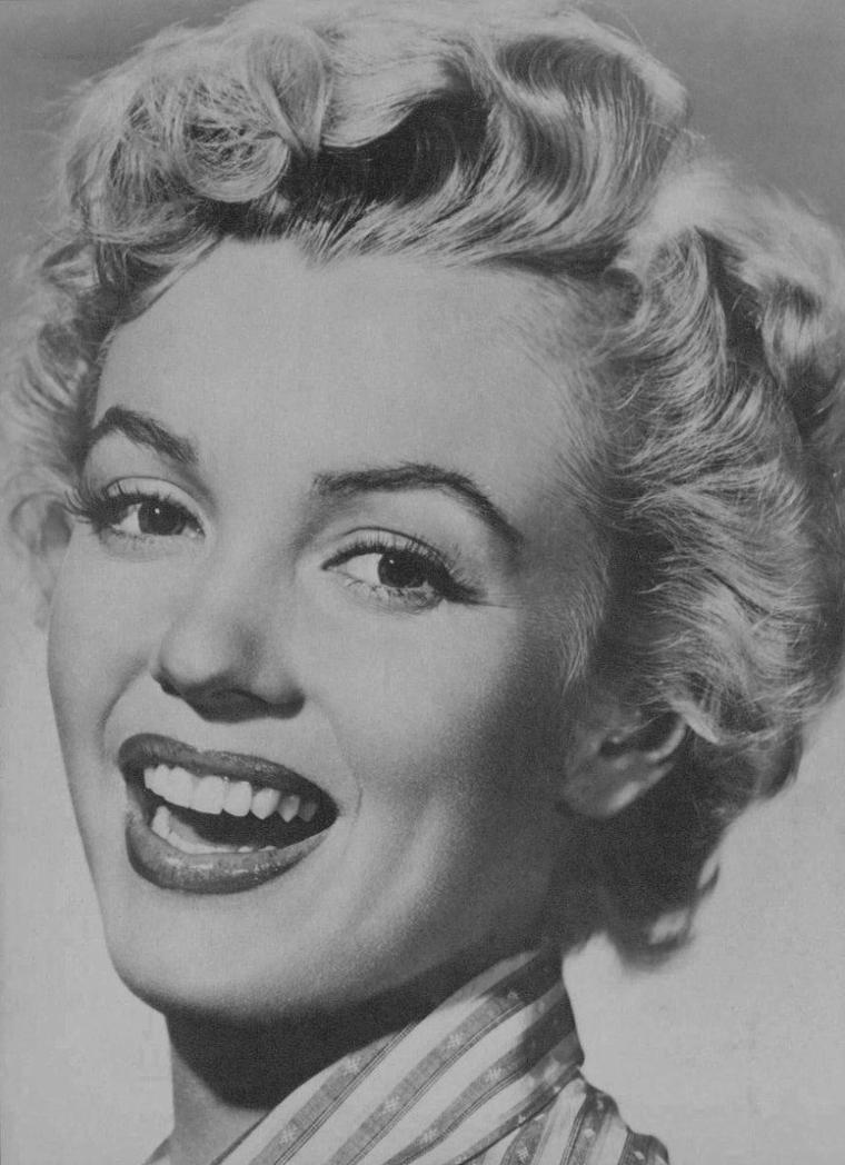 "1952 / Portraits publicitaires pour ""Clash by night""."