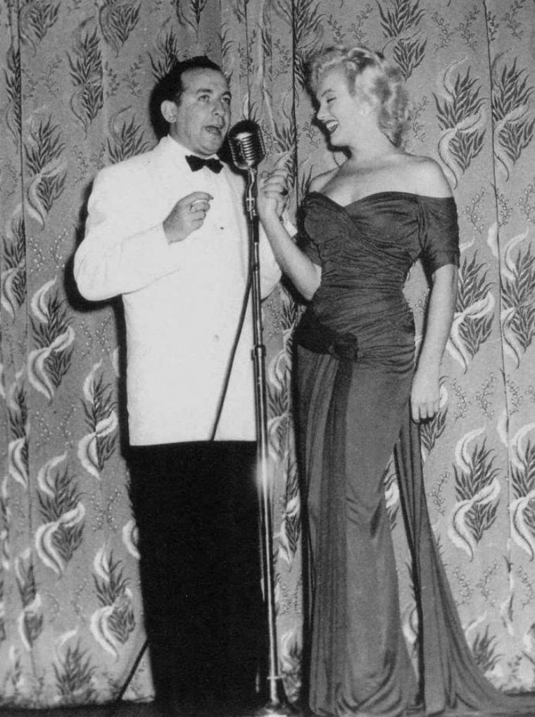 """1952 / La première de « Monkey business » eut lieu au """"Stanley Theater"""" d'Atlantic City (New Jersey)."""