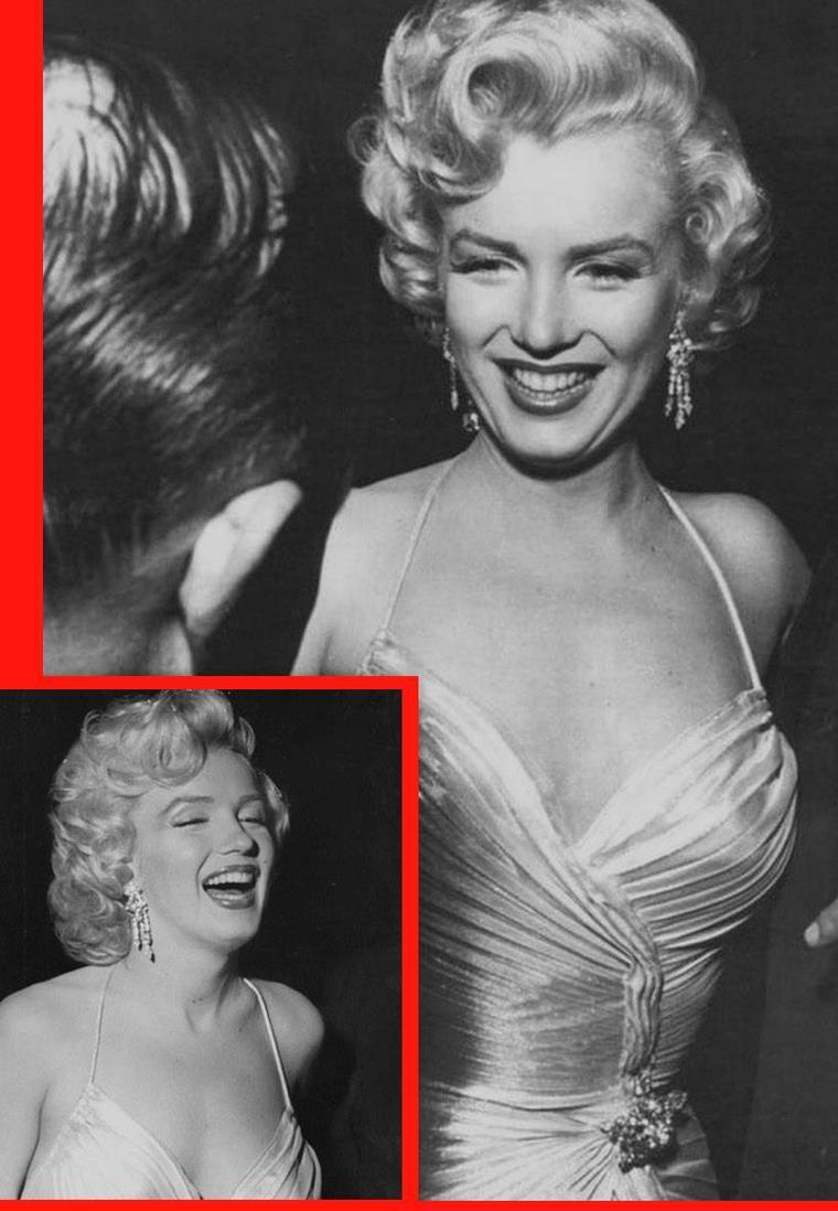 """1953 / by Phil STERN...  Marilyn participe à une soirée de bienfaisance pour des enfants ; seront de la """"partie"""", Jack BENNY ou encore Danny THOMAS. (part 2, voir TAG)."""