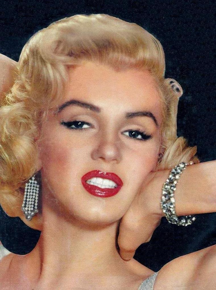 """1953 / Portraits publicitaires pour le film """"How to marry a millionaire"""", by John FLOREA."""