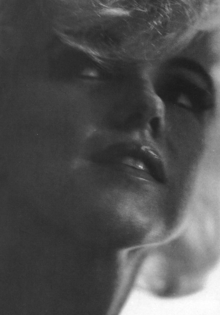 1962 / GROS PLAN sur Marilyn by Bert STERN