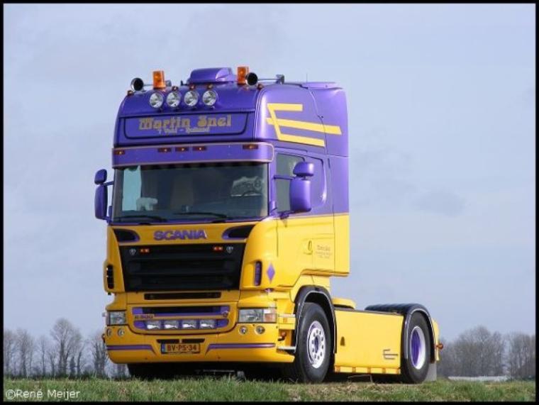 Scania Martin snel
