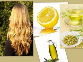 rubrique beauté #2  ( éclarcissement naturel  pour cheveux)