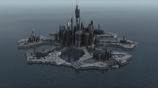 #40. La cité d'Atlantis