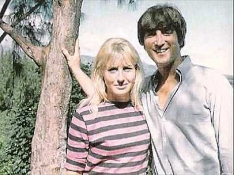 John Lennon & Cynthia Powell
