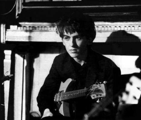 George tout jeune ...