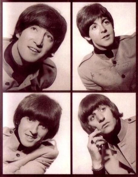 Les Beatles & leurs célèbres costumes gris