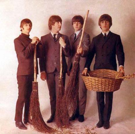 Les Beatles font le ménage