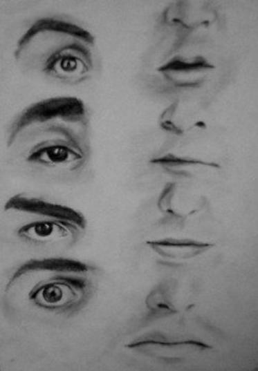 A qui sont ces nez & yeux ?