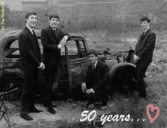 Les Beatles ont 50 ans ♥
