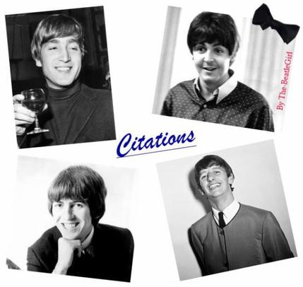 "L'humour à la Beatles... Leurs citations ""so British"" ♪"