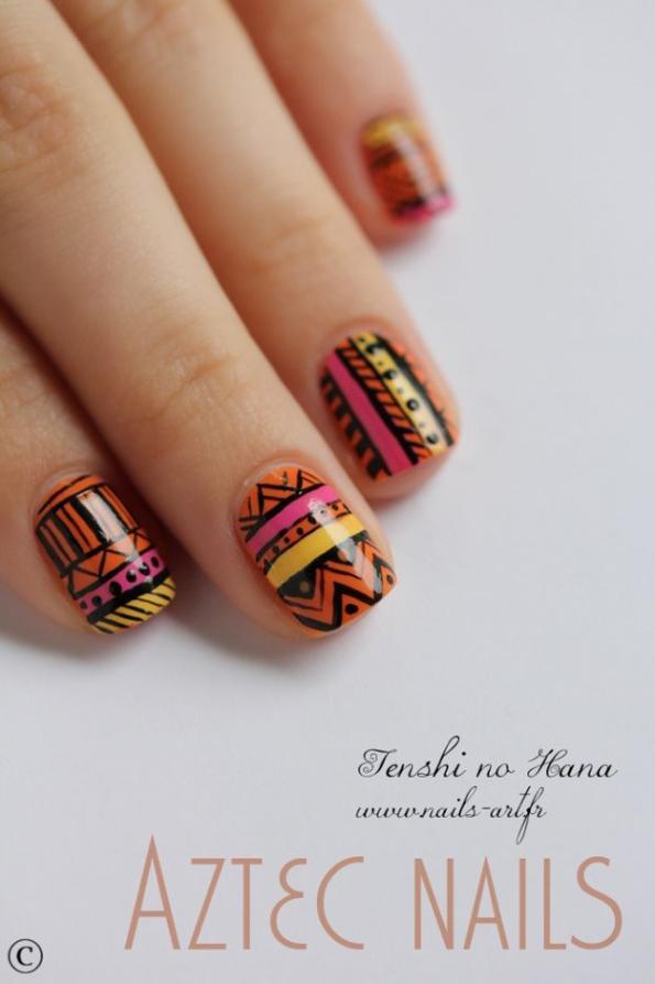 motif aztèque