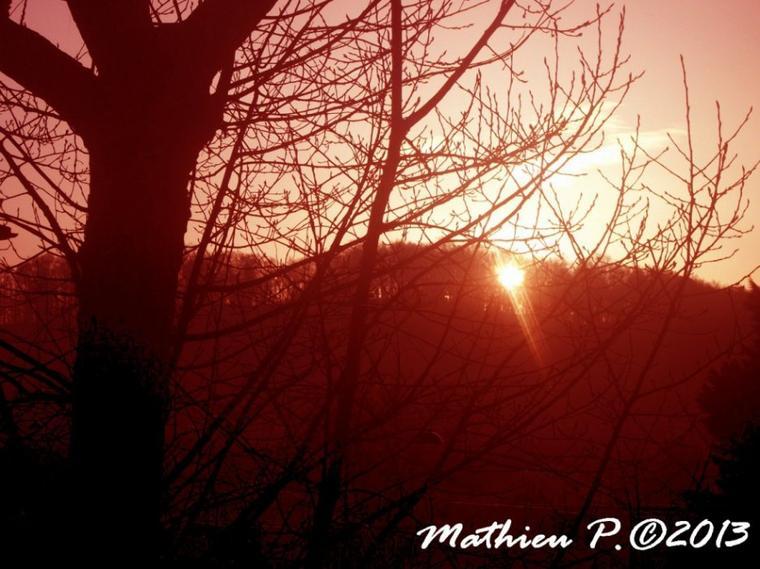 On change un peu,on prend le lever de soleil