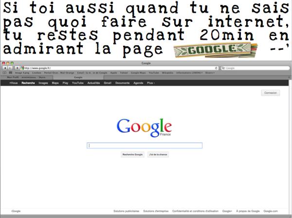 Google ... une grande histoire d'amour <3